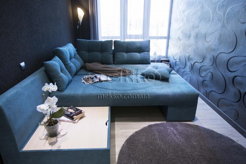 Кутовий диван з поворотним механізмом (Mercury) Меркурій ф-ка Мекко (Ортопедичний) - 3000*2150мм  Самбір-4