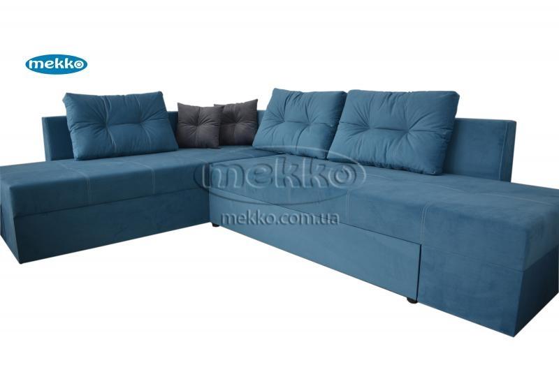 Кутовий диван з поворотним механізмом (Mercury) Меркурій ф-ка Мекко (Ортопедичний) - 3000*2150мм  Самбір-11