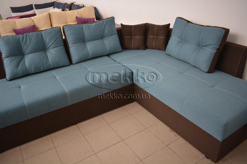 Кутовий диван з поворотним механізмом (Mercury) Меркурій ф-ка Мекко (Ортопедичний) - 3000*2150мм  Самбір-8